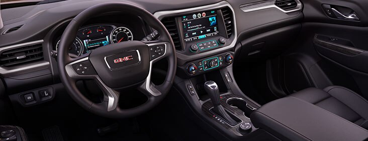 2017 GMC Acadia crossover vehicle with technology and infotainment at your fingertips.