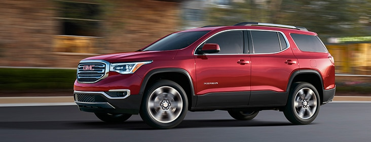 The 2017 GMC Acadia comes standard with a powerful V6 engine.